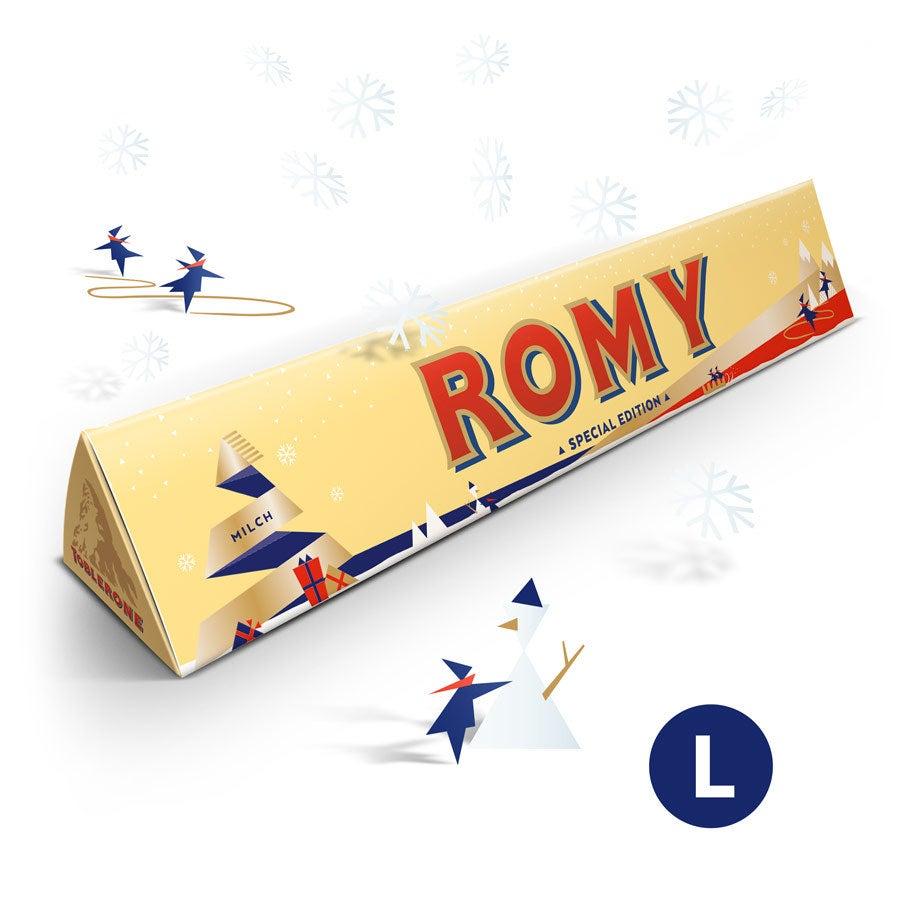 Toblerone Schokolade - Weihnachten (360 Gramm)