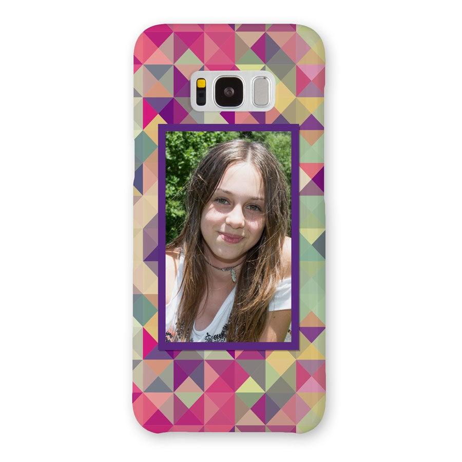 Telefoonhoesje - Samsung Galaxy S8 plus - 3D bedrukt