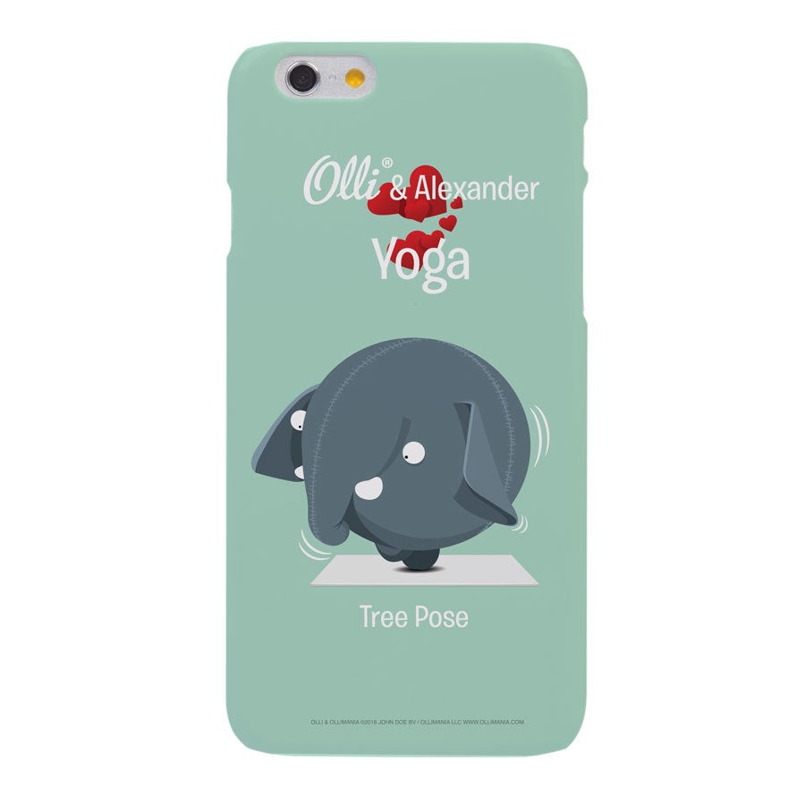 Olli - iPhone 6s - foto case rondom bedrukt
