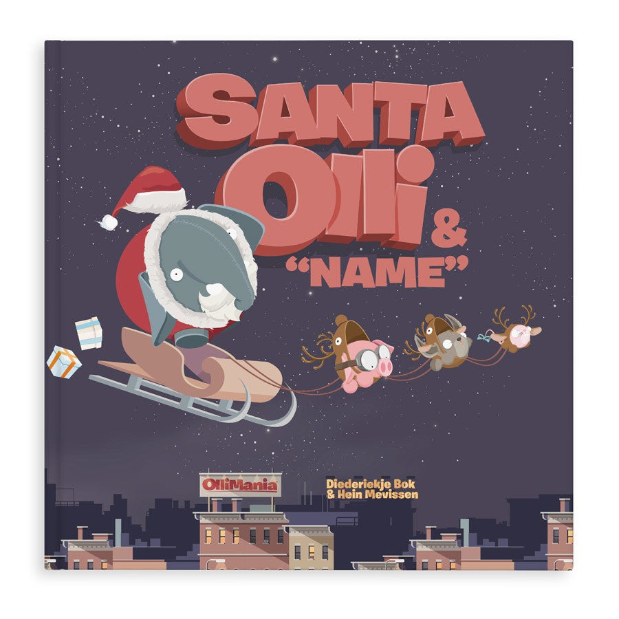 Personalised book - Santa Olli XXL - Hardcover