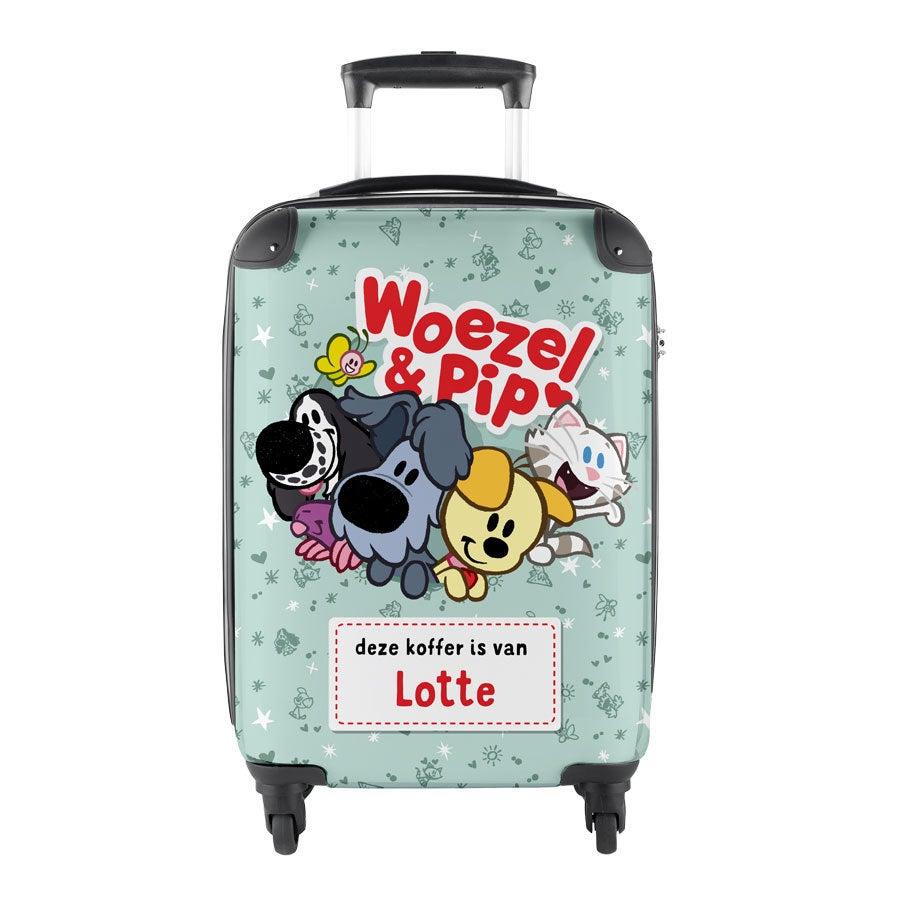 Princess naamkoffer - Woezel & Pip (handbagage)