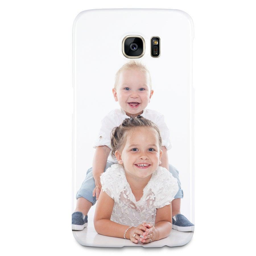 Samung Galaxy S7 Hülle -  Fotocase rundum bedruckt