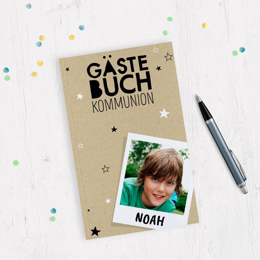 Individuellmedien - Gästebuch zur Kommunion Softcover - Onlineshop YourSurprise