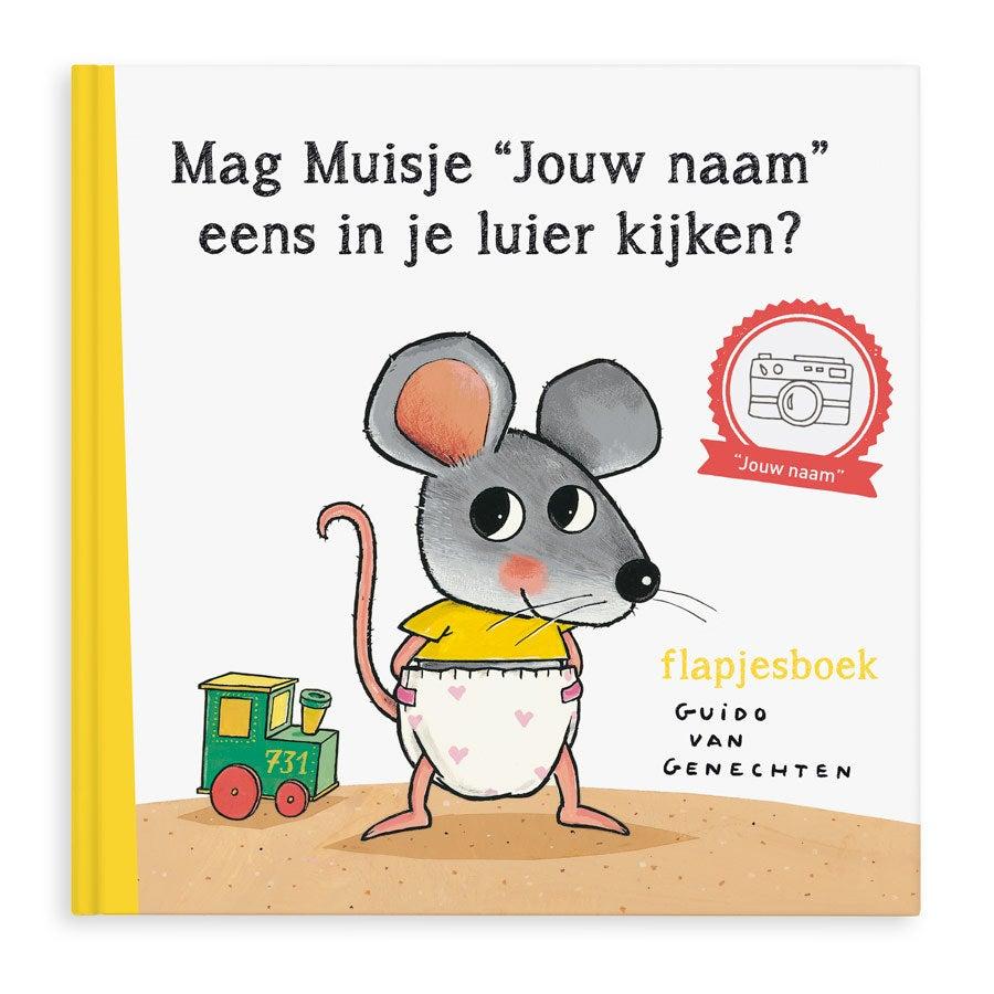 Boek met naam Mag ik eens in je luier kijken? XXL flapjesboek