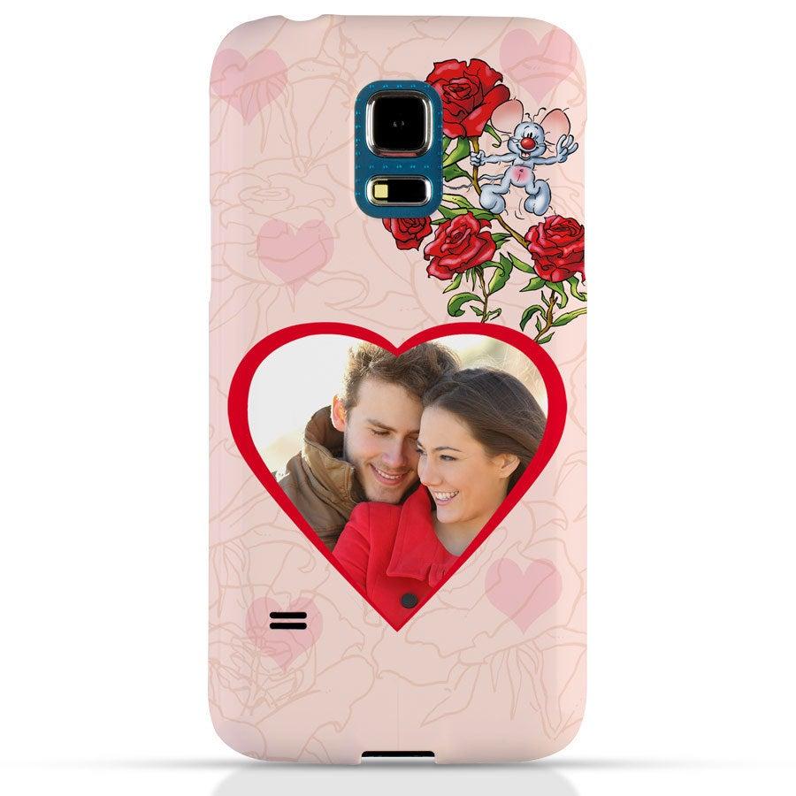 Doodles - Samsung Galaxy S5 mini - foto case rondom bedrukt
