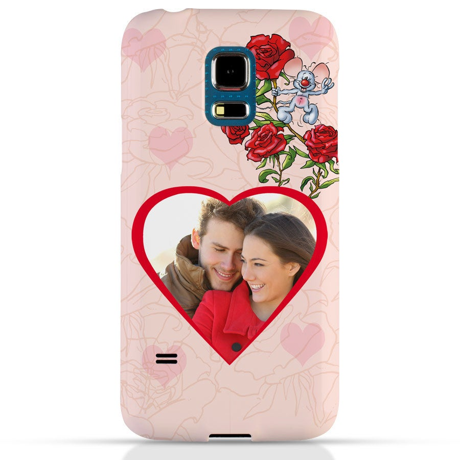 Doodles - Samsung Galaxy S5 mini - Photo case 3D print