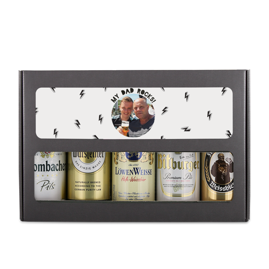 Vaderdag bierpakket maken - Duits