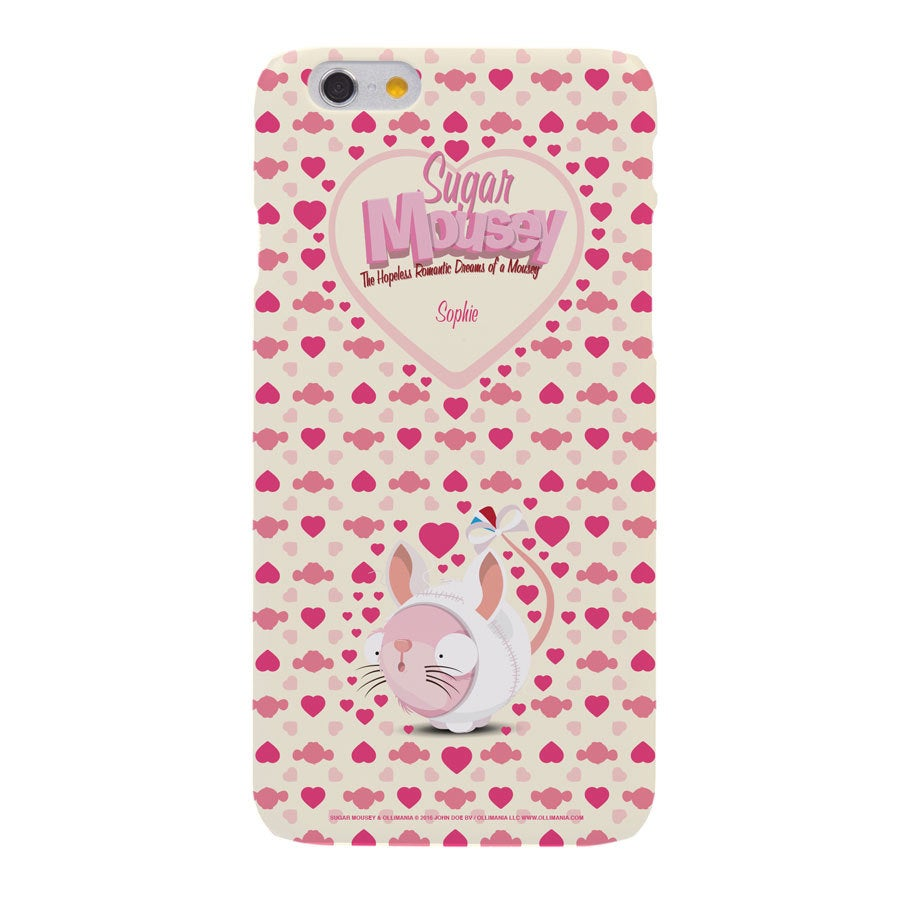 Sugar Mousey phone case - iPhone 6s - 3D print