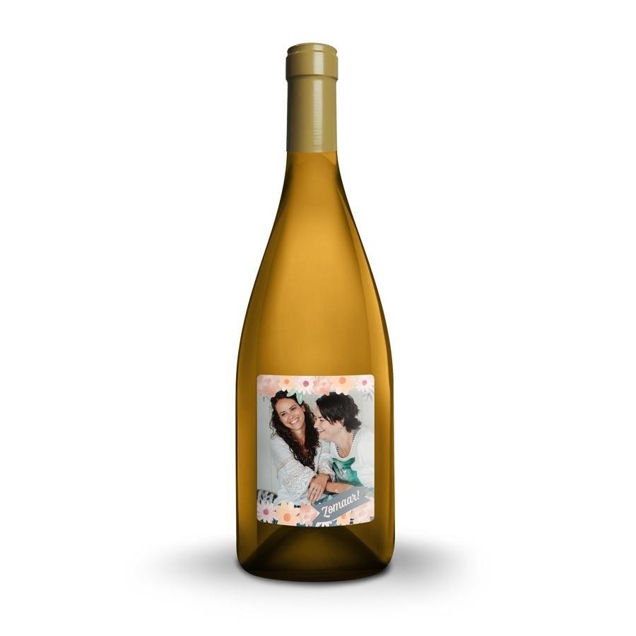 Wijn met bedrukt etiket - Mainzer Domherr Spätlese Peter Meyer