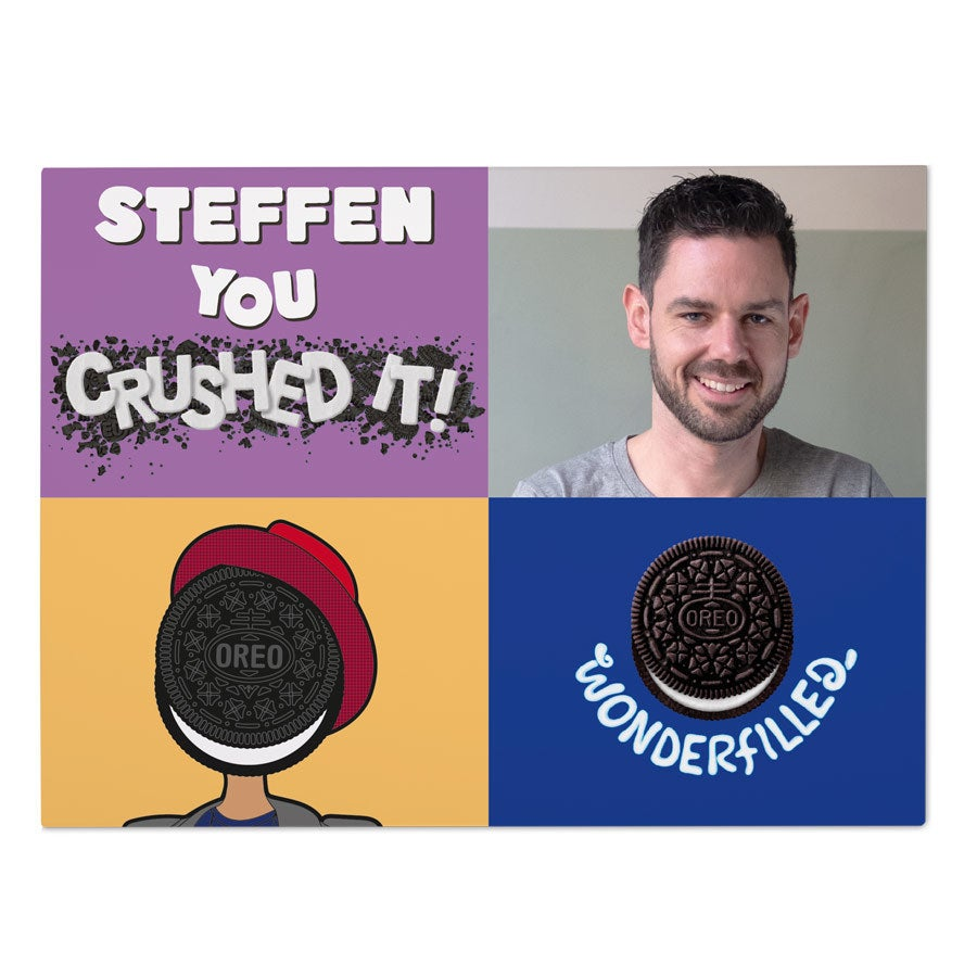 Oreo Geschenk - Your crushed it - Mann