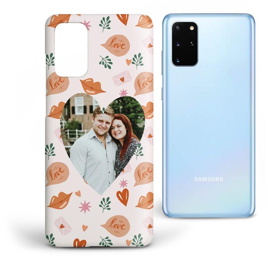 Personlig mobildeksel - Samsung Galaxy S20 - Heldekkende trykk
