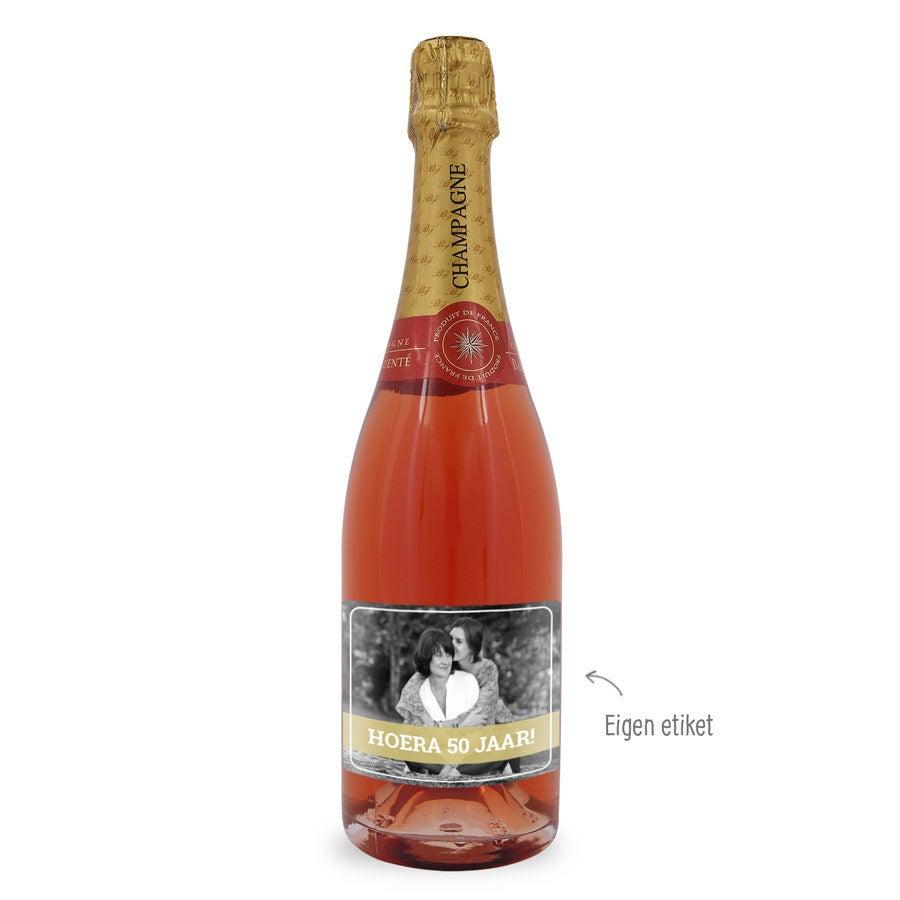 Baron Fuente Rosé - met persoonlijk etiket