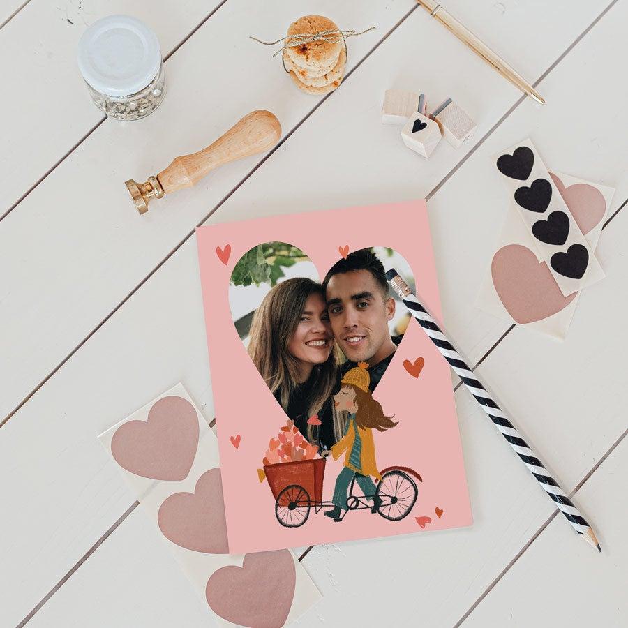 - Valentinstag Karte M Vertikal - Onlineshop YourSurprise