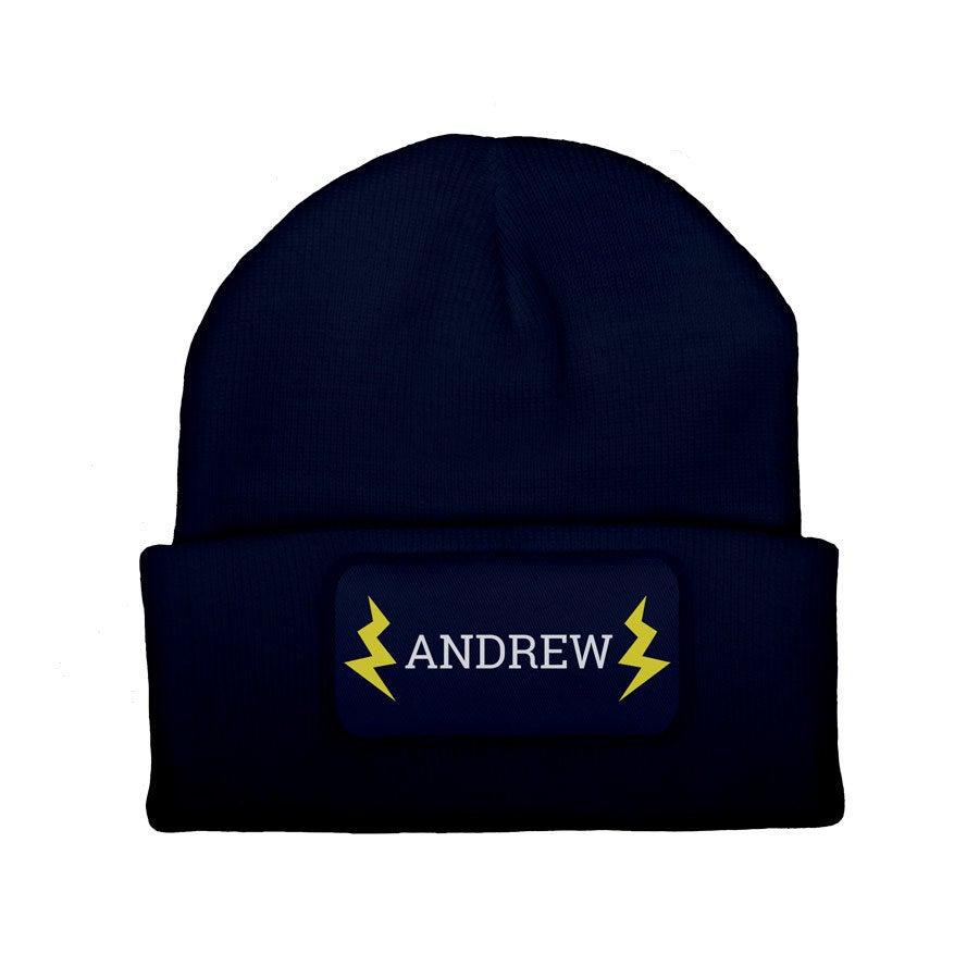 Custom czapka - Navy