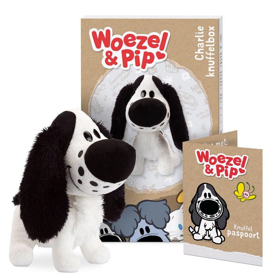 Woezel & Pip knuffelbox - Charlie
