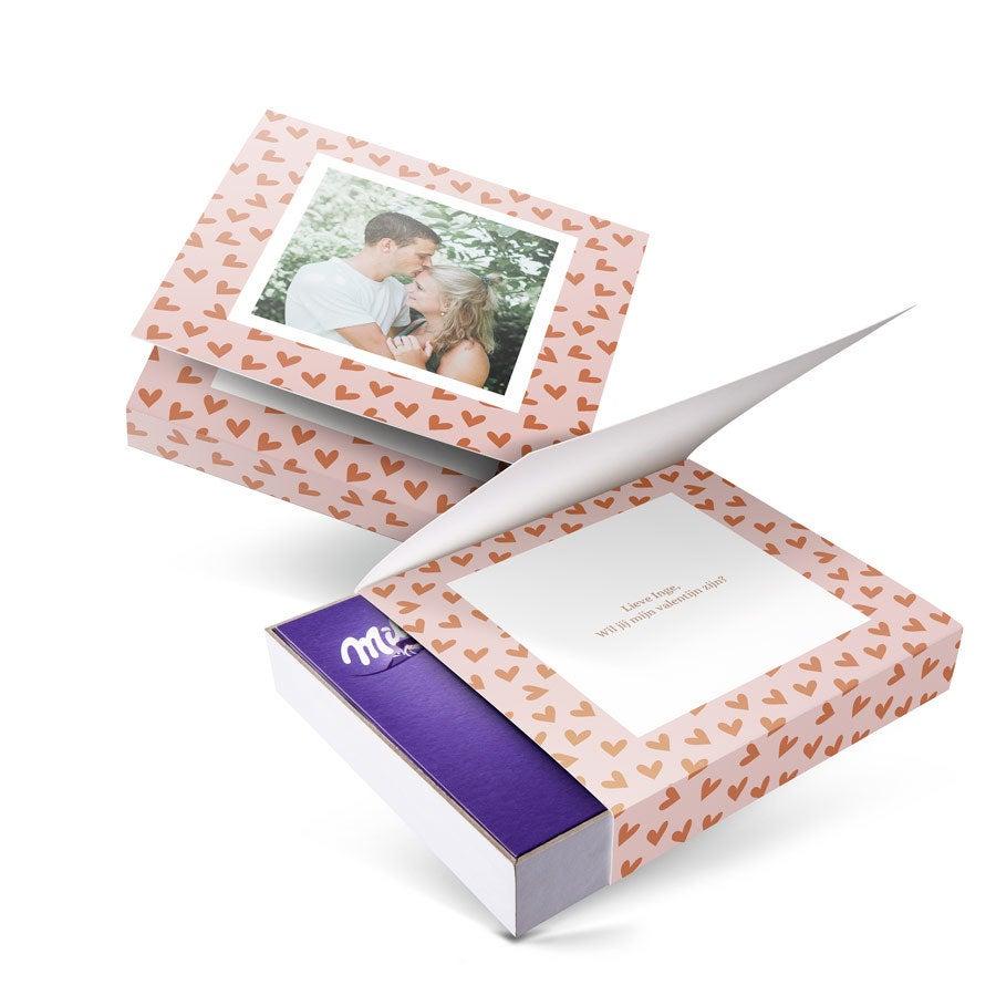 Milka giftbox bedrukken - Valentijn - 220 gram