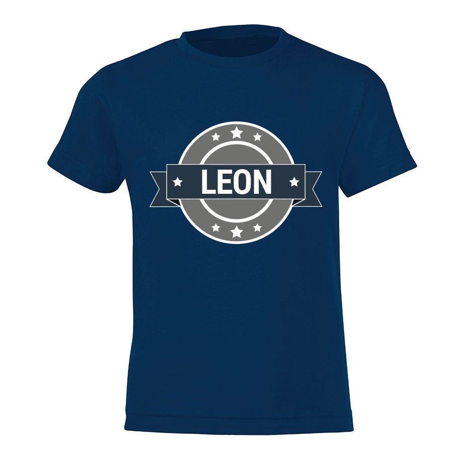 T-paita omalla painatuksella - Lapset - Sininen -110
