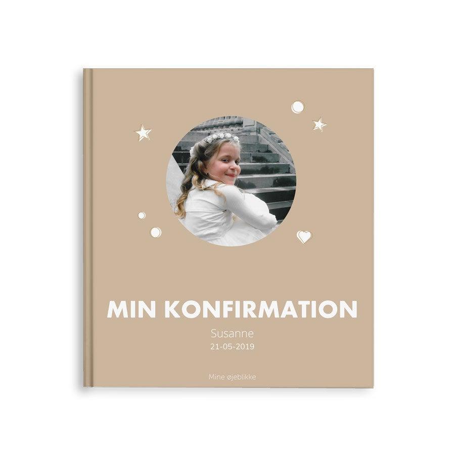 Billedalbum - Min konfirmation - M - Hardcover - 40 sider