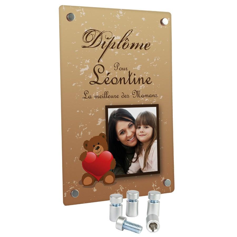 Diplôme - Aluminium entretoises