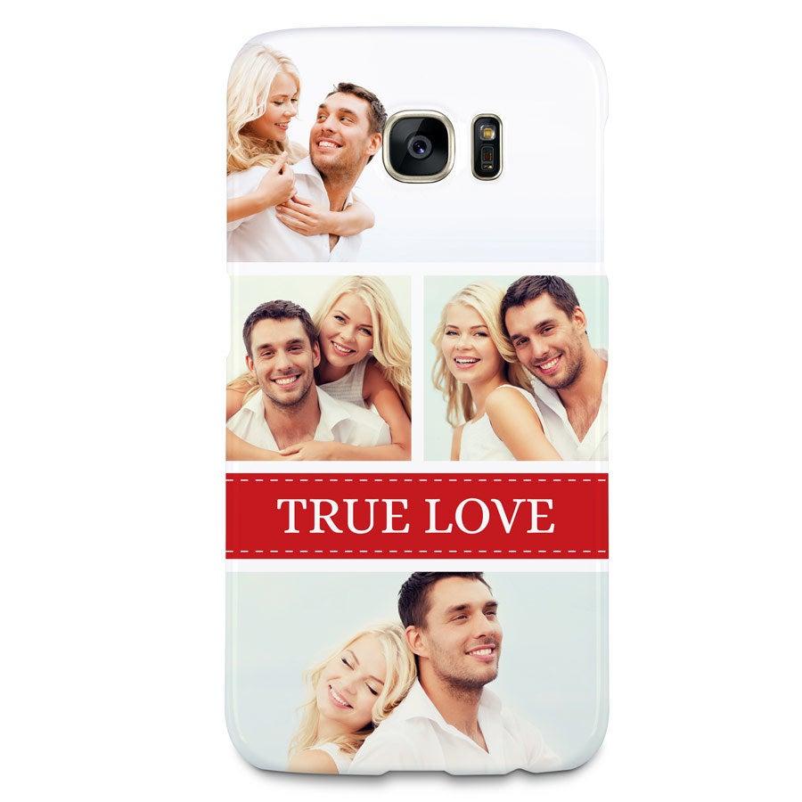 Telefoonhoesje - Samsung Galaxy S7 - 3D bedrukt