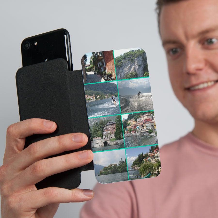 Flip telefoonhoesje met foto - M