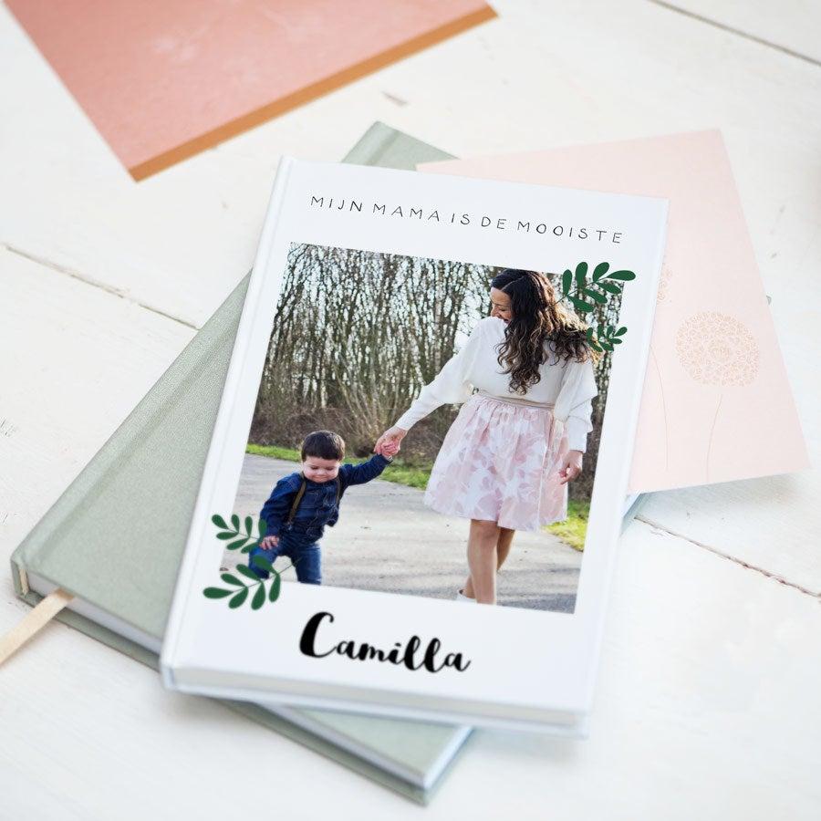 Moederdag notitieboekje bedrukken - Softcover