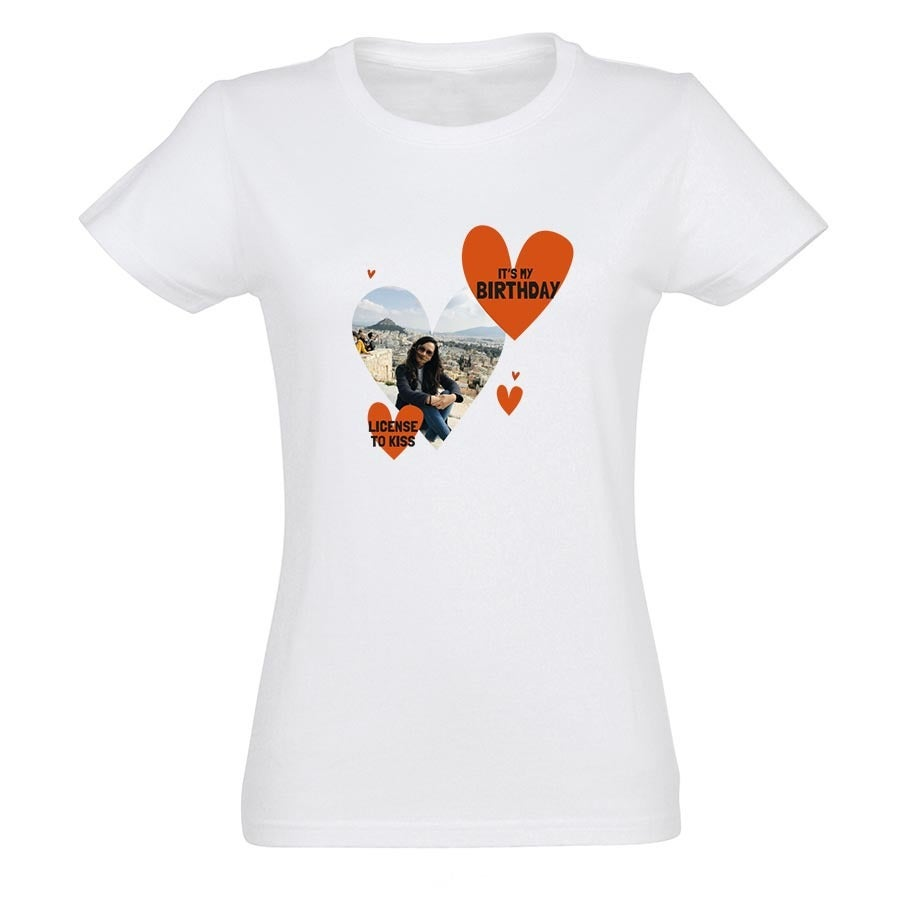 T-shirt - Vrouw - Wit - S