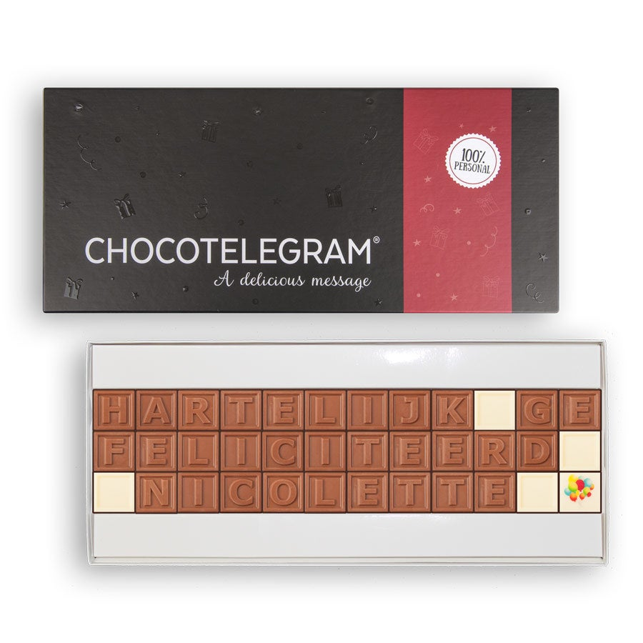Chocotelegram - 36 letters