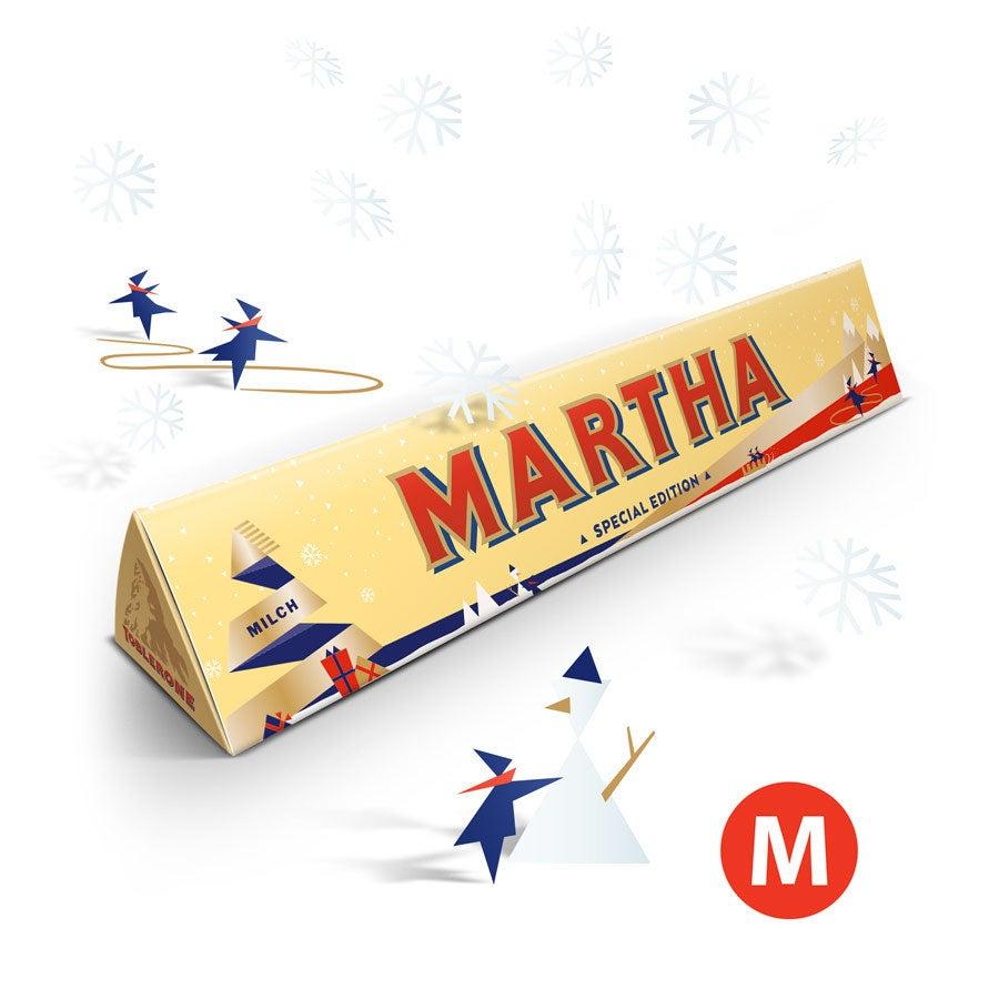 Toblerone Schokolade - Weihnachten (200 Gramm)