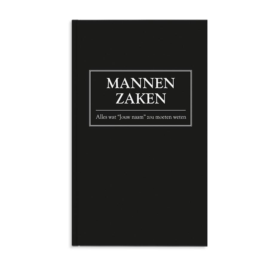 Boek met naam en foto - Mannenzaken - Hardcover