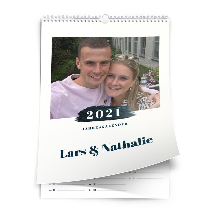 Jahreskalender 2021 - A3 - hochkant