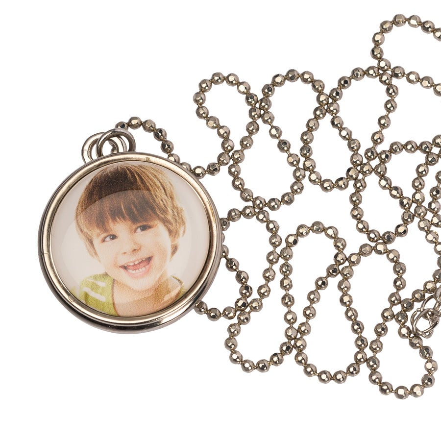 Necklace - Click Pendant - 30mm
