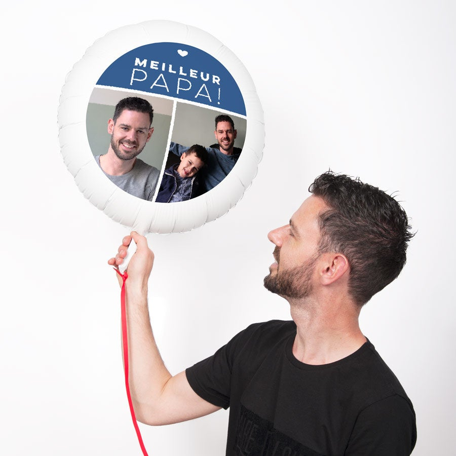 Ballon personnalisé - Fête des Pères
