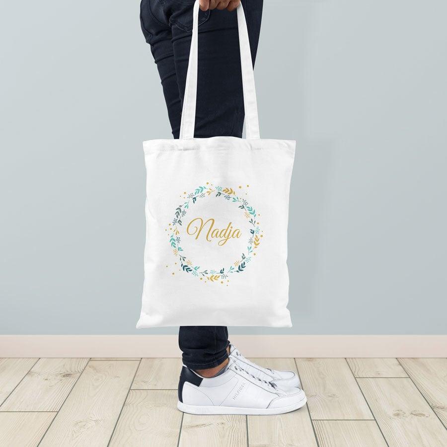 Individuellbekleidung - Jutebeutel Weiß - Onlineshop YourSurprise