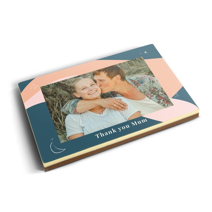 Fényképes csokoládé kártya - 240 gramm