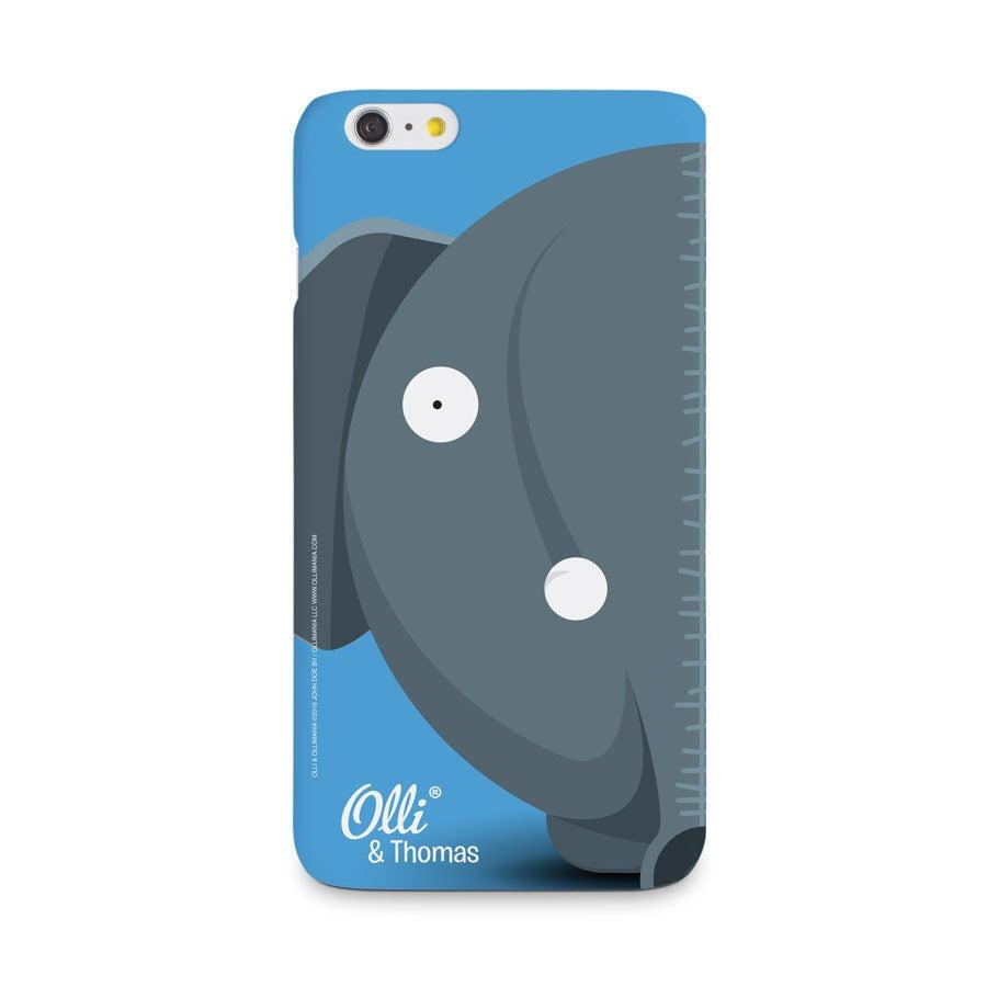 Olli - iPhone 6 plus - foto case rondom bedrukt