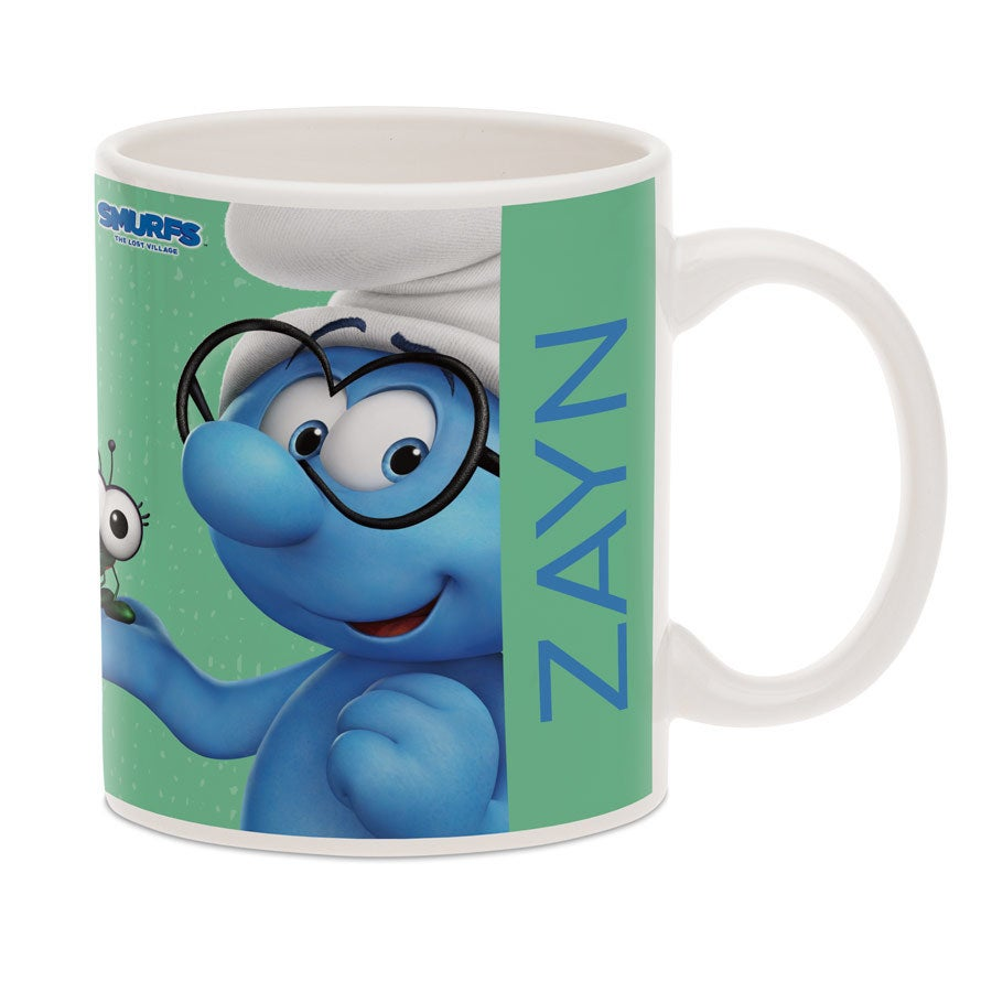 The Smurfs mug with photo