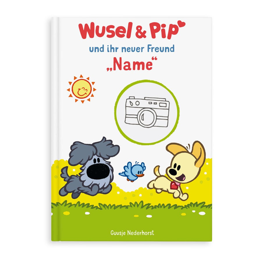 Individuellbabykind - Kinderbuch Wusel Pip 1 Freund XL Softcover - Onlineshop YourSurprise
