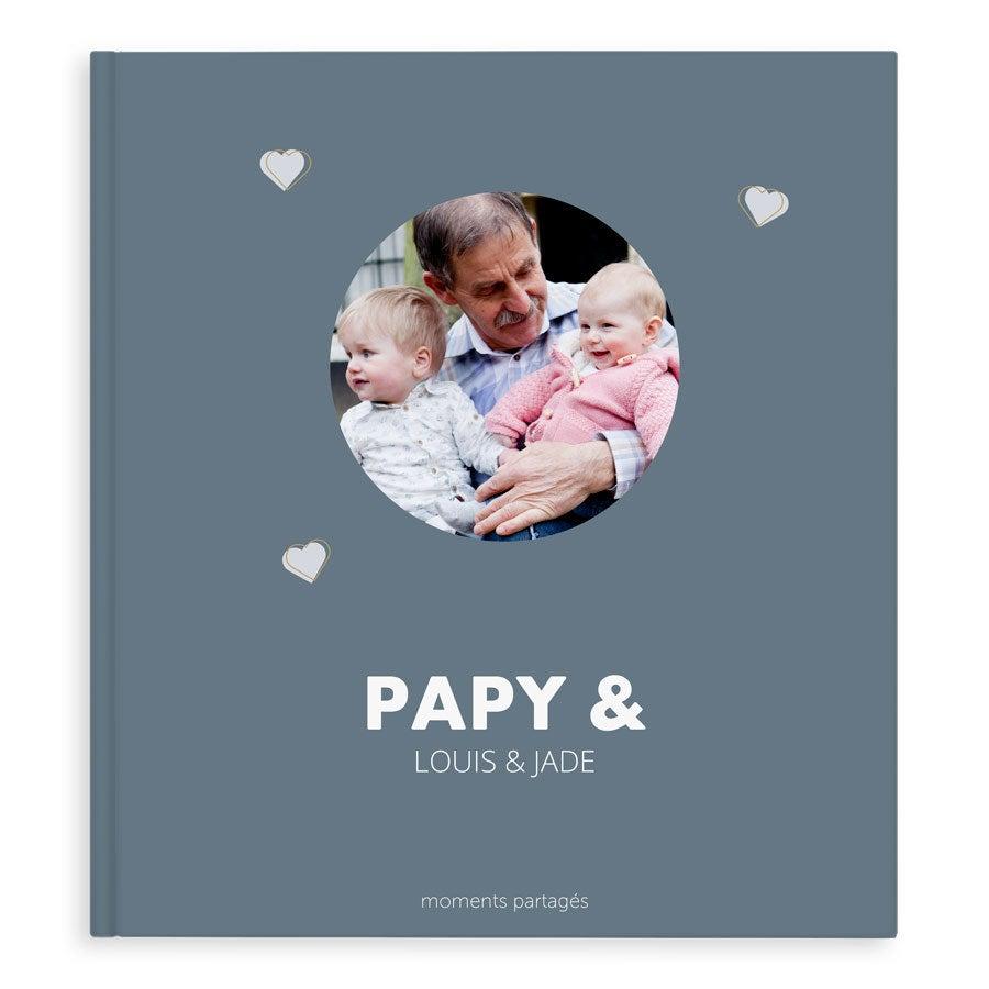 Album photo papy - XL - Couverture rigide - 40 pages