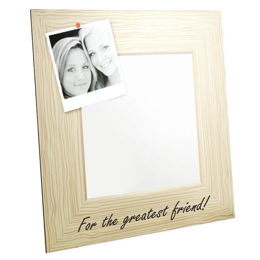 Spegel - Tryckt 30 x 30 cm