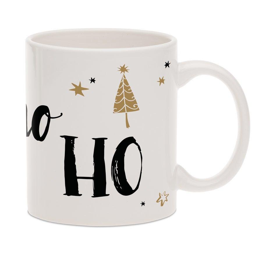 Tassen beschriften - Weihnachtstasse mit Text