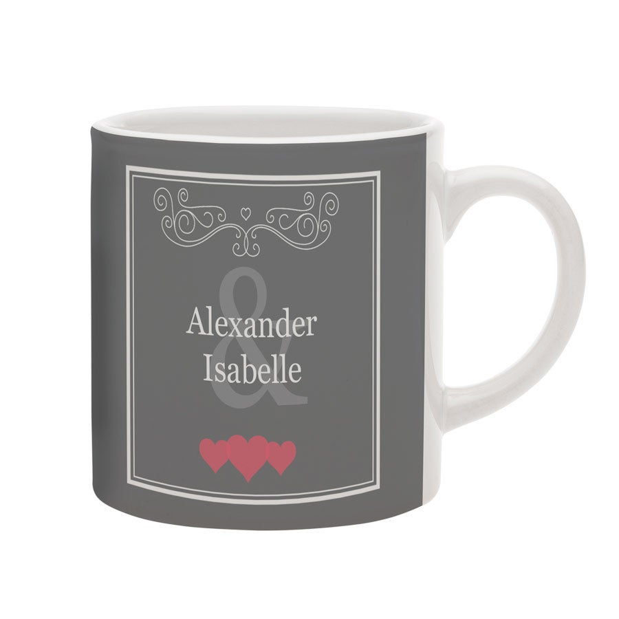 Personalizovaný espresso pohár