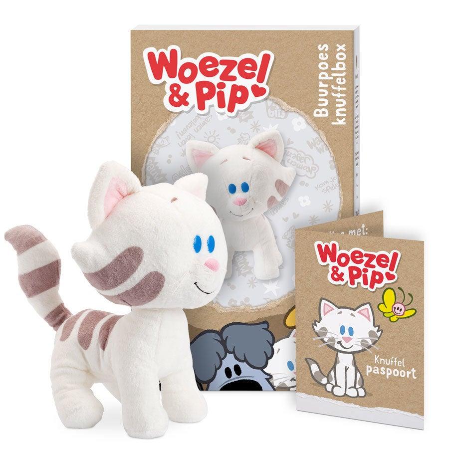 Woezel & Pip knuffelbox - Buurpoes
