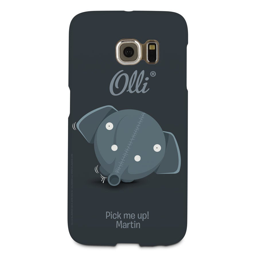 Telefoonhoesje Ollimania - Samsung Galaxy S6 Edge