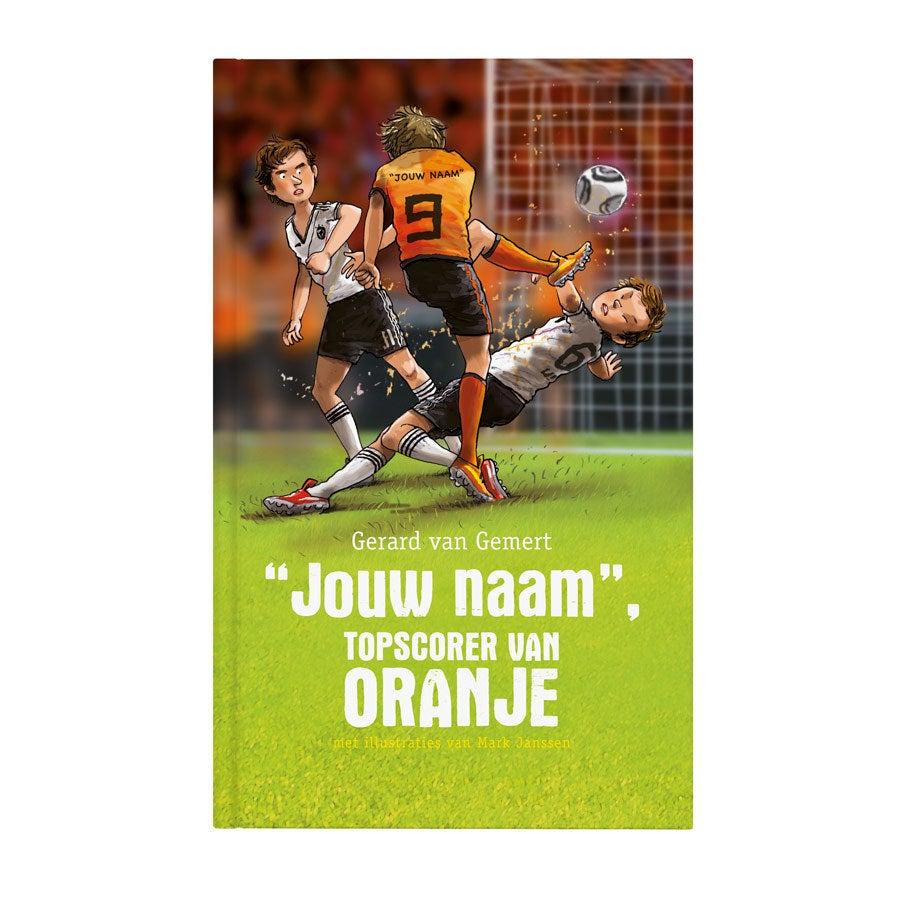 Boek met naam - Topscorer van Oranje - Softcover