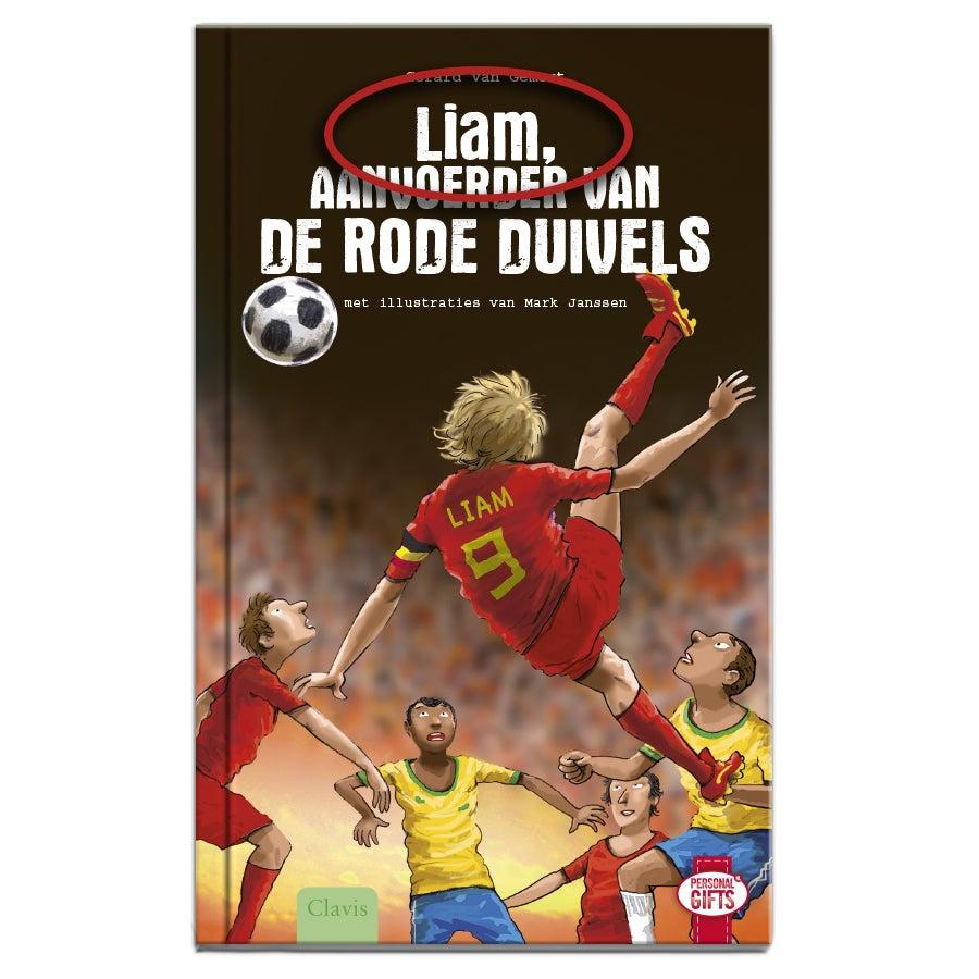 Aanvoerder van De Rode Duivels - Hardcover