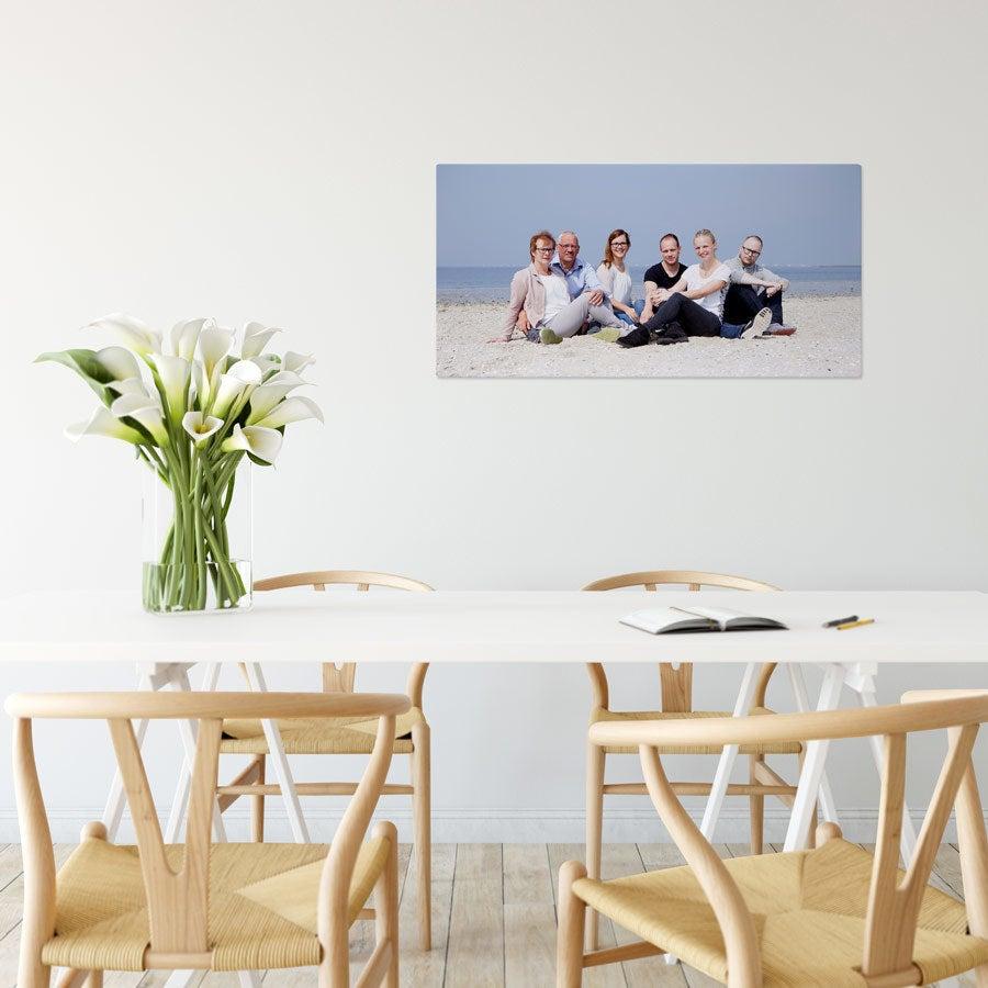 Foto op aluminium afdrukken - Wit (ChromaLuxe) - 80 x 40 cm