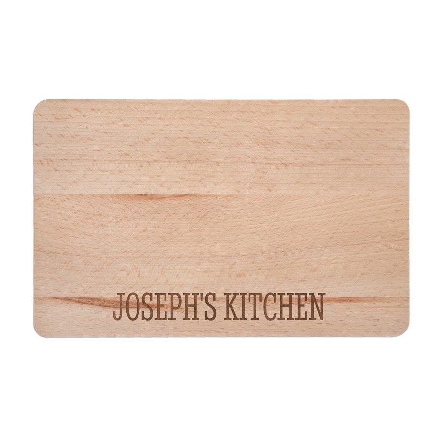 Tabla de cortar de madera - S