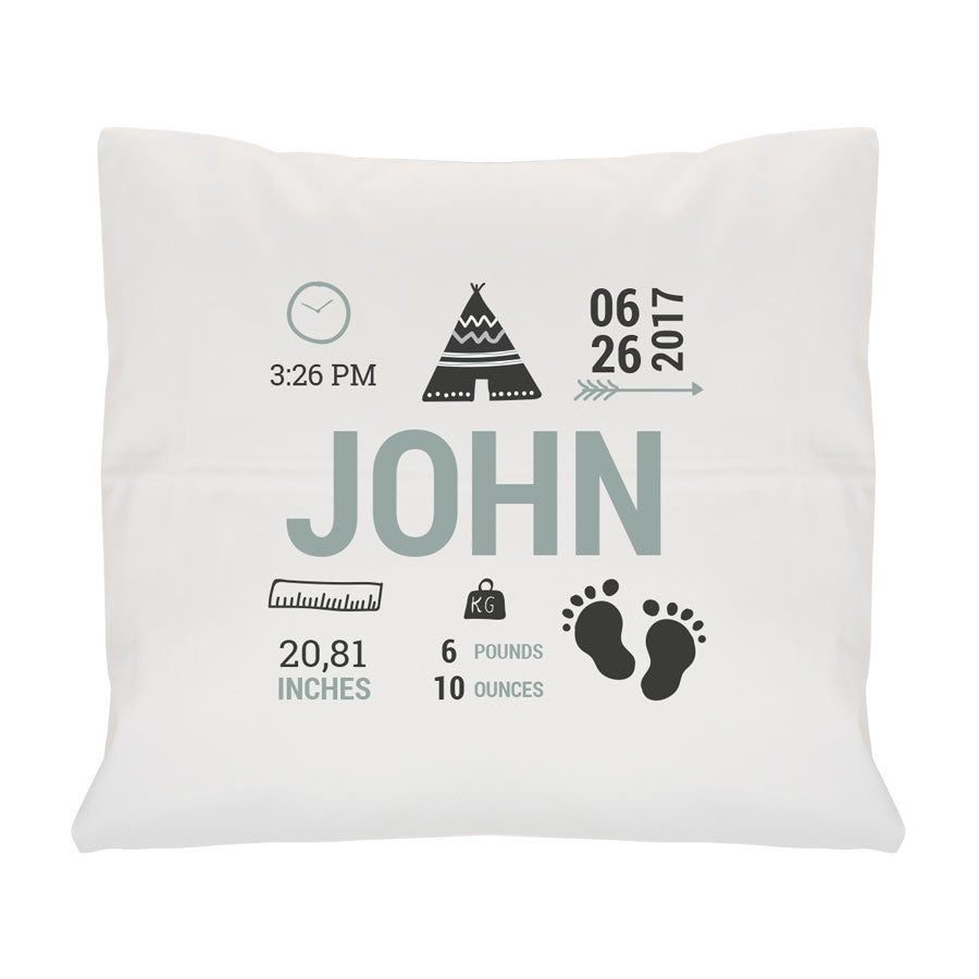 Birth cushion - White - Small - With filling