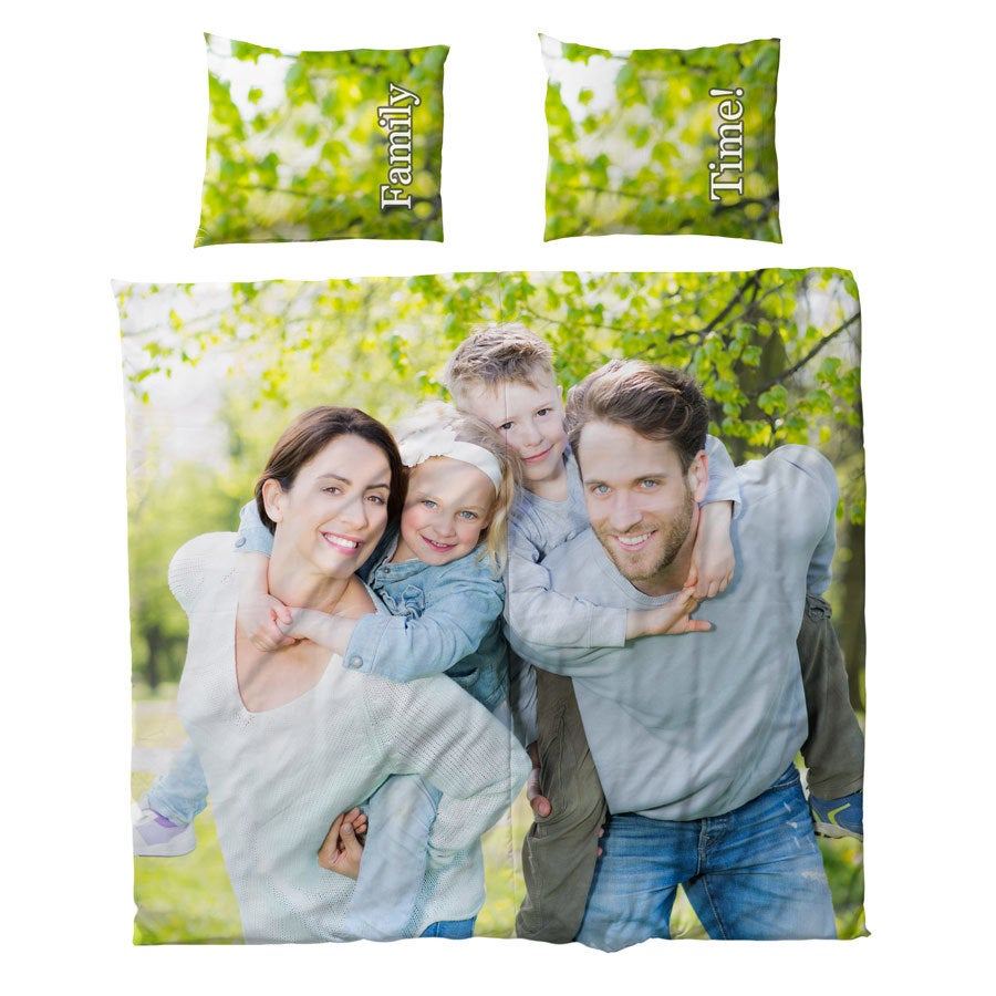Decke- und Kissenbezug  - 240x220cm - Baumwolle